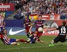 Những khoảnh khắc đẹp từ đại chiến Atletico-Barca