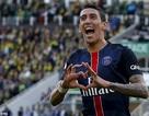 """""""Tam tấu"""" Di Maria-Ibrahimovic-Cavani lập công, PSG thắng lớn"""