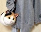 Nhật Bản rộ mốt túi xách y hệt mèo thật