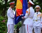 Lễ thượng cờ chào mừng 48 năm thành lập ASEAN
