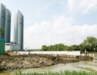 Kiểm tra 2 dự án bất động sản lấp hàng nghìn m2 rạch
