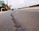 Đại lộ đẹp nhất Sài Gòn mới đi vào sử dụng đã nứt nhiều nơi