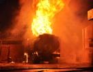 Vụ cháy xe bồn chứa 22.000 lít xăng: Do đốt vàng mã