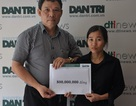 Gia đình bé Thanh Mai ủng hộ lại hơn 900 triệu đồng để giúp đỡ các hoàn cảnh khó khăn