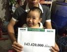 Hơn 143 triệu đồng đến với em bé 3 tuổi bị sét đánh