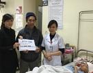 Quỹ Nhân ái trao nóng 10 triệu đồng đến bé Nguyễn Việt Trung