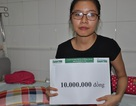 10 triệu đồng tiếp tục đến với em Bích Ngọc bị ô tô nghiến qua người