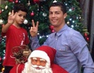 C.Ronaldo đón Giáng sinh sớm bên con trai cưng