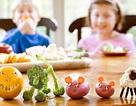 Chơi đùa trước bữa trưa giúp trẻ thích rau xanh