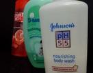 Ngập thị trường khăn ướt và sữa tắm trẻ em có chất Bộ Y tế cấm
