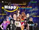 Lưu Thiên Hương tái hợp  DJ  SlimV trong show  Happy Color