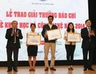 Trao giải thưởng báo chí về Khoa học Công nghệ
