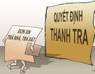 Thanh tra toàn diện về đất đai tại 30 tỉnh có vấn đề nổi cộm