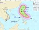 Cơn bão mạnh cấp 14 có xu hướng tiến vào Biển Đông