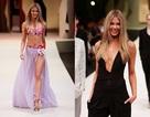 Cựu Hoa hậu Hoàn vũ rạng ngời trên sàn catwalk