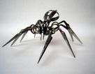 Kỳ thú nhện làm từ lưỡi kéo