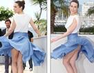 Sự cố váy áo hi hữu tại LHP Cannes