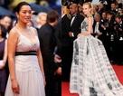Củng Lợi đọ sắc mỹ nhân Troy trên thảm đỏ Cannes
