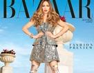 Jennifer Lopez diện váy 10.000 đô trên bìa báo