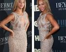 Beyonce diện váy kiêu sa trong buổi công chiếu phim