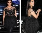 Kim siêu vòng ba diện áo lông xù che bụng bầu