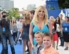 Britney Spears đưa hai con dự công chiếu phim