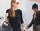 Angelina Jolie và Maddox thu hút sự chú ý tại sân bay