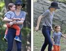 Miranda Kerr đưa con đi chơi công viên