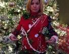 Bà bầu Kelly Clarkson vui vẻ đón Giáng sinh
