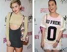 Miley Cyrus và Katy Perry đọ vẻ nhí nhảnh