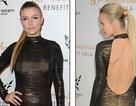 Người mẫu xinh đẹp gây sốc với váy xuyên thấu