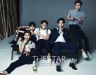 Super Junior-M cuốn hút trên bìa báo mới