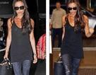 Victoria Beckham sành điệu tại sân bay