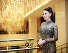 Hoa khôi Hương Thảo quyến rũ với váy ren