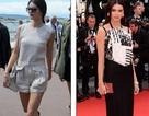 Em gái cô Kim rạng rỡ dự LHP Cannes