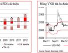 Xu hướng vốn ngoại tăng mạnh hỗ trợ tỷ giá trong năm 2014