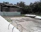 Vụ vỡ bể bơi tại Vĩnh Phúc:  Do tường bể xây trên nền đất yếu?