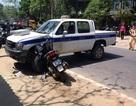 Tông vào xe CSGT, kẻ trộm xe SH tử vong