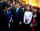 Chủ tịch nước Trương Tấn Sang gặp gỡ học sinh giỏi dân tộc thiểu số