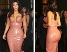 Kim Kardashian diện váy bó sát khoe đường cong bốc lửa