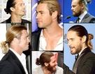 """Các """"sao"""" nam mê… buộc tóc"""