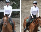 Iggy Azalea học cưỡi ngựa
