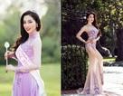 Cận cảnh vẻ đẹp của tân hoa hậu Phụ nữ người Việt thế giới 2015