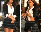 Megan Fox trẻ trung như học sinh