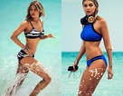 """""""Bỏng mắt"""" với loạt hình bikini mới nhất của siêu mẫu 9x"""