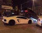 Lamborghini Aventador hất tung Mercedes GLK
