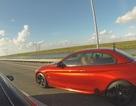 Tesla Model S P85D đánh bại BMW M4 trên đường đua