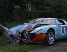 """Cua gấp, """"hàng hiếm"""" Ford GT Heritage lâm nạn"""