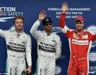 Mắc sai lầm nhưng Lewis Hamilton vẫn giành pole