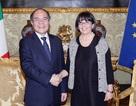 Chủ tịch Quốc hội Nguyễn Sinh Hùng hội đàm với Phó Chủ tịch Hạ viện Italy